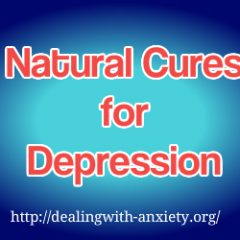 natural cures for depression