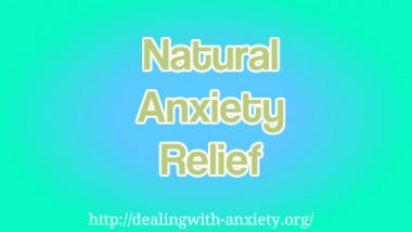 natural anxiety relief