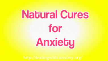natural cures for anxiety