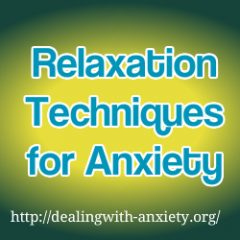 relaxation techniques for anxiety